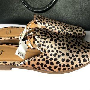 GAP Shoes | Gap Leopard Mules | Poshmark